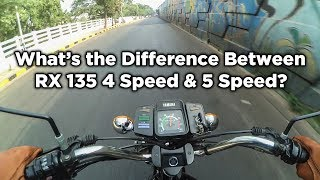 How is Yamaha RX 135 5 Speed Different from the 4 Speed? - Motovlog