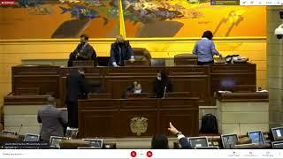 Plenaria Cámara De Representantes 09/06/2021
