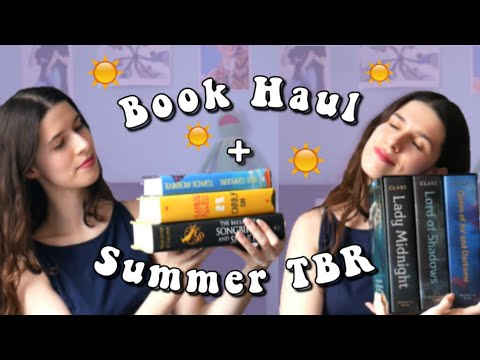 What I Want To Read This Summer |  BOOK HAUL + Summer TBR ☀️