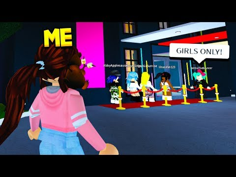 GIRLS ONLY CLUB Had A CREEPY TWIST But My Girlfriend Exposed It! (Roblox)
