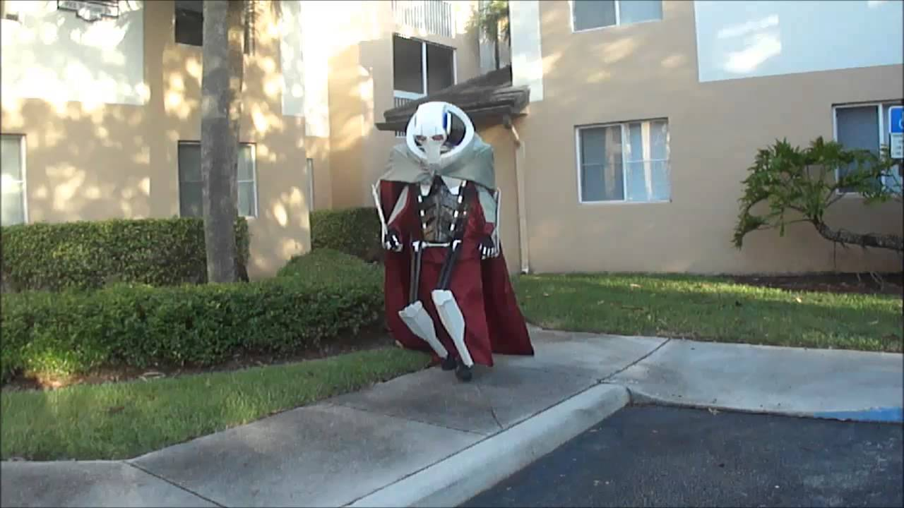 Junioru0027s General Grievous Costume 2012 & Junioru0027s General Grievous Costume 2012 - YouTube