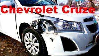 Шевроле Круз ремонт кузова в Нижнем Новгороде Chevrolet Cruze Auto body repair