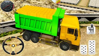 Gold Transporter - Heavy Dumper Truck Driver - Android GamePlay 2021
