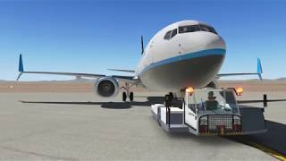 XPlane 11 Flight ZIBO737  HEMA to LCLK GERMAN Deutsch #01