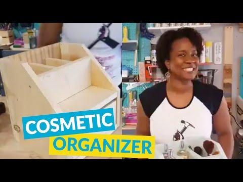 Cosmetics and Perfume DIY Organizer