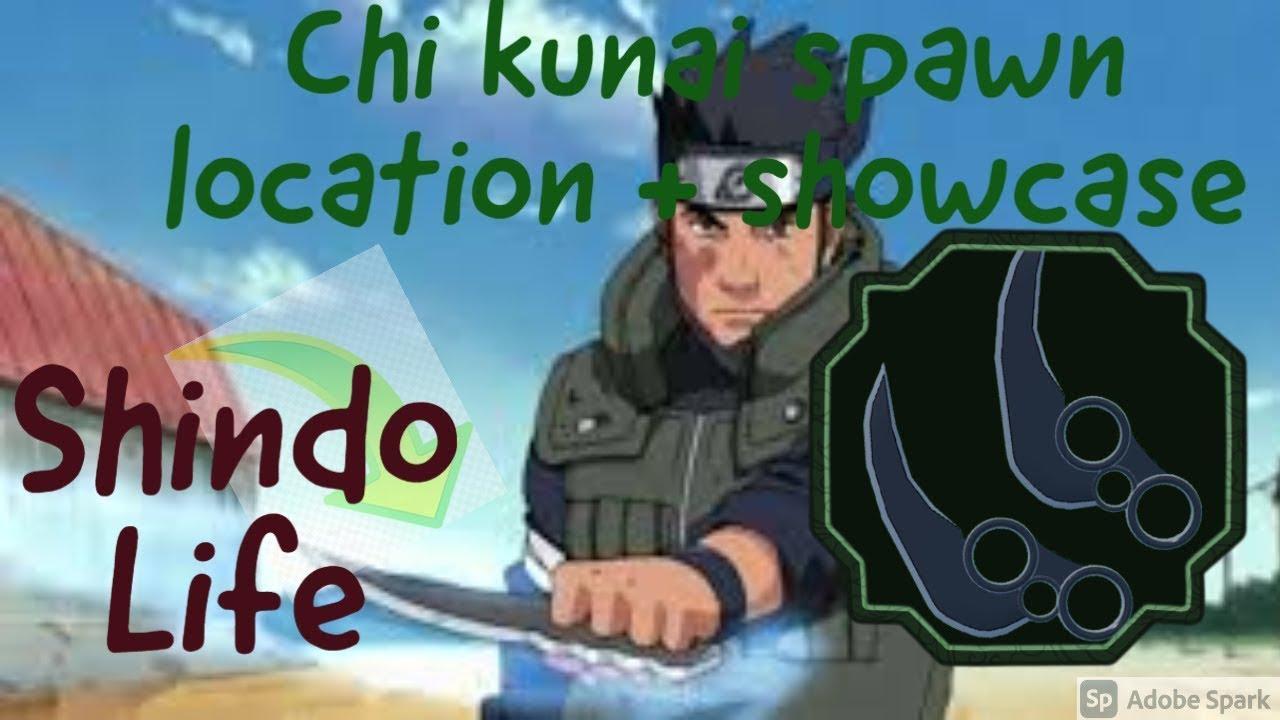 chi kunai spawn location and showcase