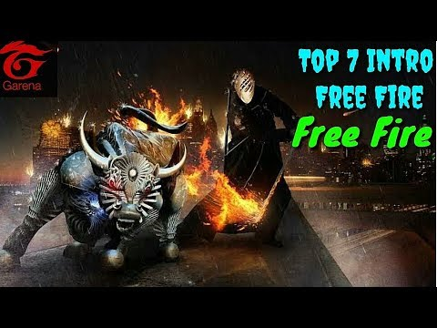 Free Fire Top 7 Intro Free Fire 3d Intro Rahim Gaming