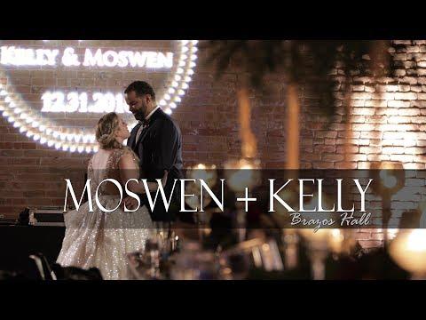 A Heartfelt Brazos Hall Wedding In Austin Texas - Moswen And Kelly