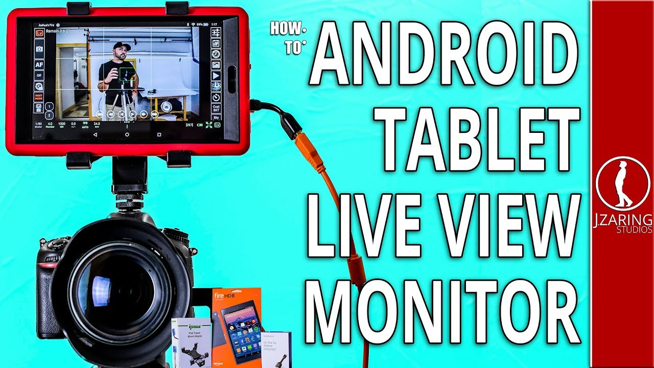 Tablet DSLR Monitor  How to set it all up with Q DSLR DASHBOARD