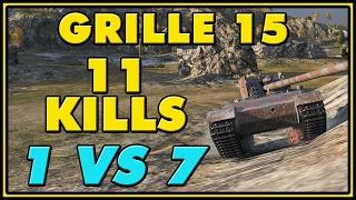World of Tanks | Grille 15 - 11 Kills - 10K Damage