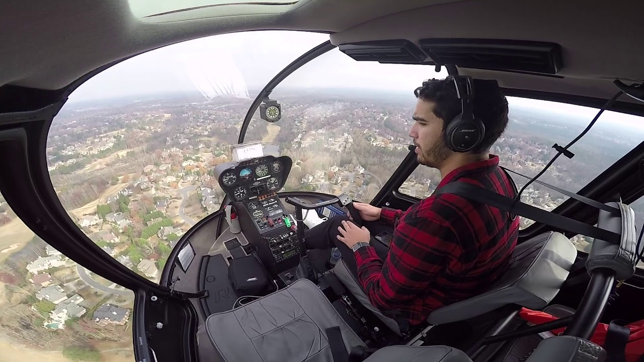 Life As A Helicopter Pilot Flight Vlog - YouTube