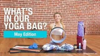 These are 10 health, wellness, and yoga products that we are loving and using this May. The editors of YogiApproved.com love yoga and everything related to ...