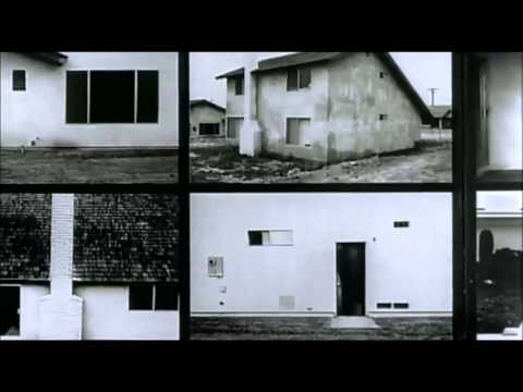 Photographer Lewis Baltz. (Cobbled film)
