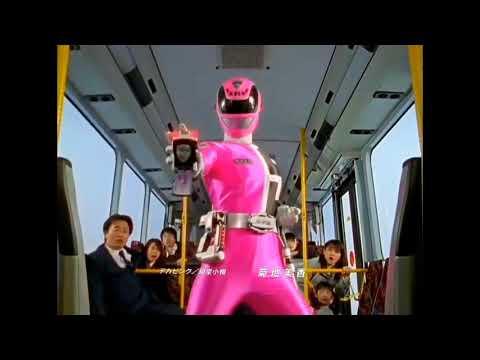 スーパー戦隊 ピンク   変身  名乗り   デカレンジャー  ゴセイジャー ▶1:20