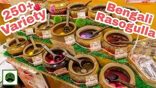270 Variety Of Rasgulla in Kolkata | Indian Street Food| Veggiepaaji