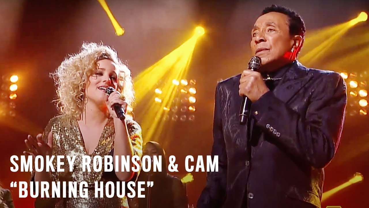 Smokey Robinson & Cam - Burning House (CMT Crossroads)