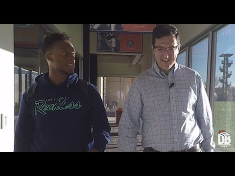 The Out Route: LB Brandon Marshall