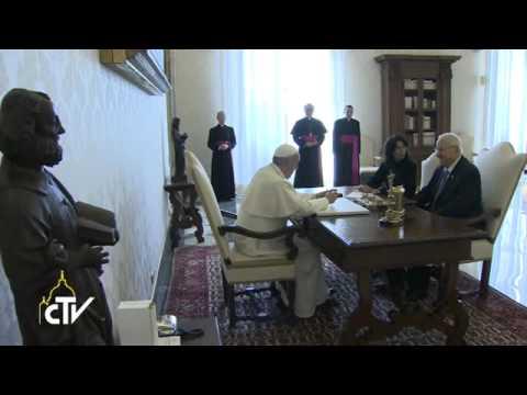 Pope: Restart Negotiations Between Israelis And Palestinians
