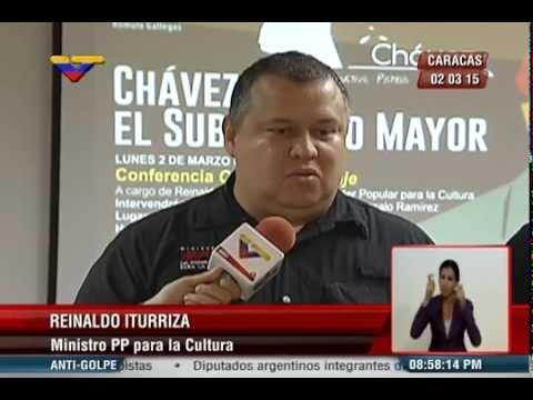 """Foro """"Chávez, el Subversivo Mayor"""" en el Celarg - Reporte de VTV"""