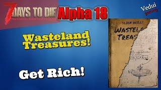 7 Days to Die Alpha 18 | 🧟 Feature Review. Wasteland Treasures! @Vedui42 ✔️