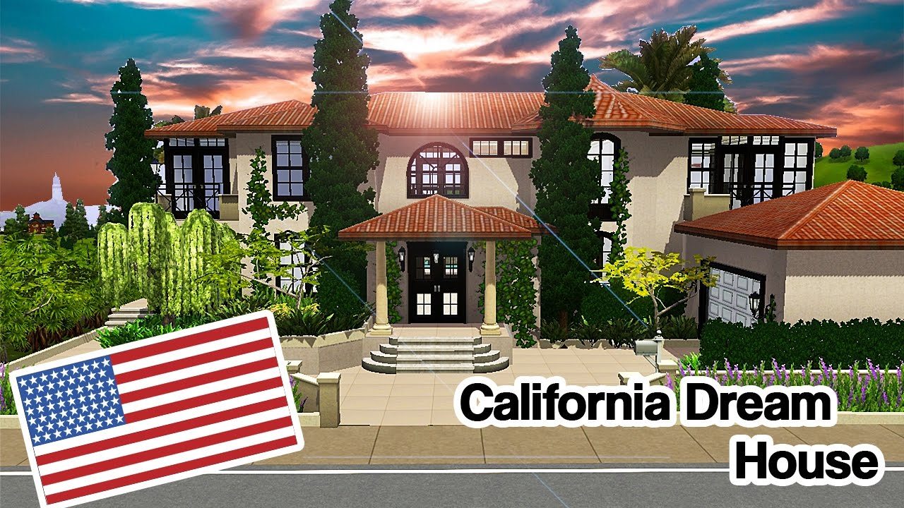 The Sims 3 California Dream House Around The World Serie