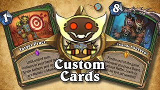 TOP CUSTOM CARDS OF THE WEEK #14 | Card Review | Hearthstone