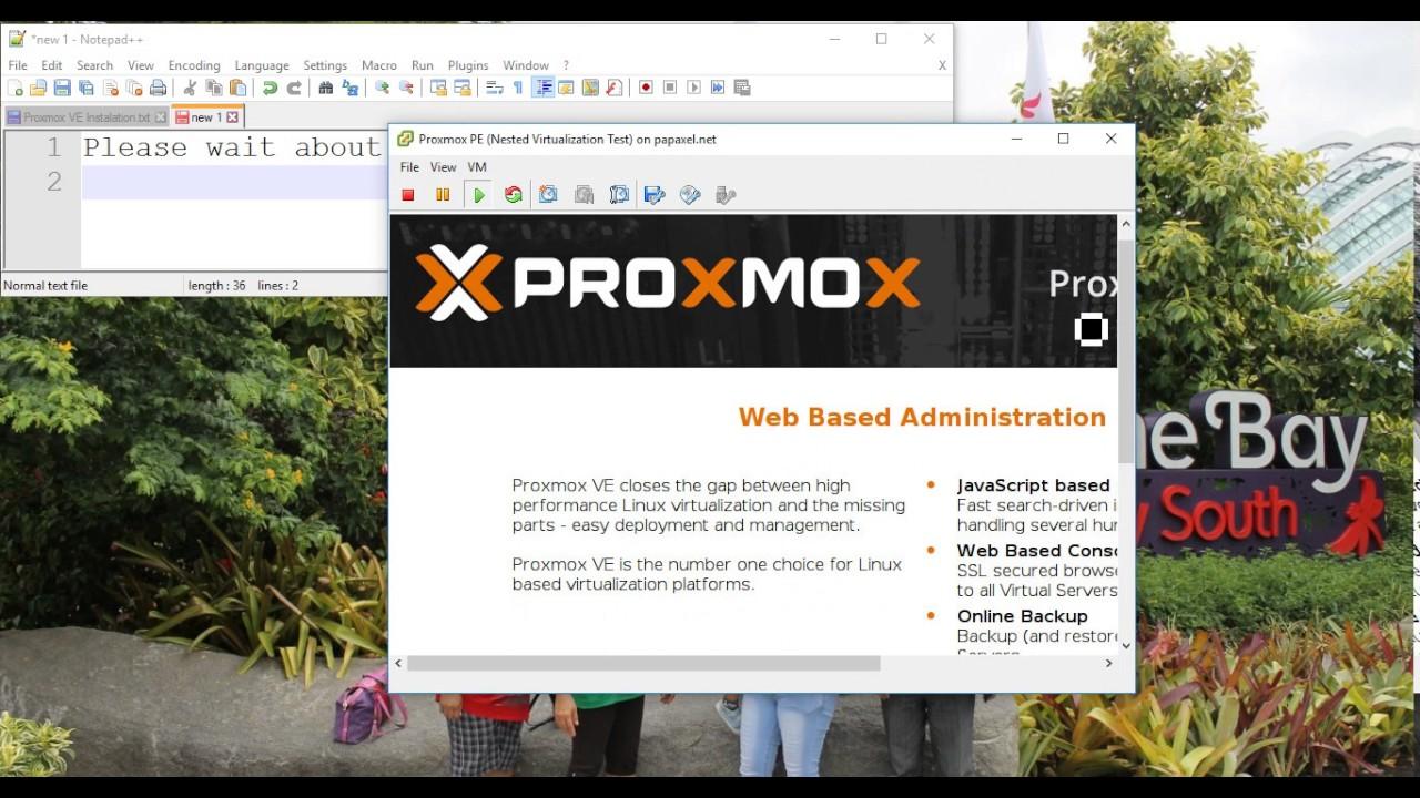 Proxmox VE Instalation On VMware ESXI - Part1