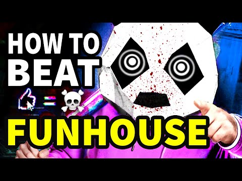 """How To Beat The DEATH GAME In """"Funhouse"""""""
