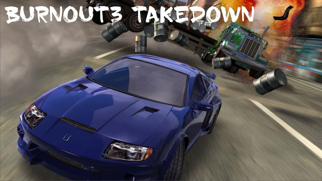 Download Burnout 3 Takedown ISO for PS2 And PPSSPPP