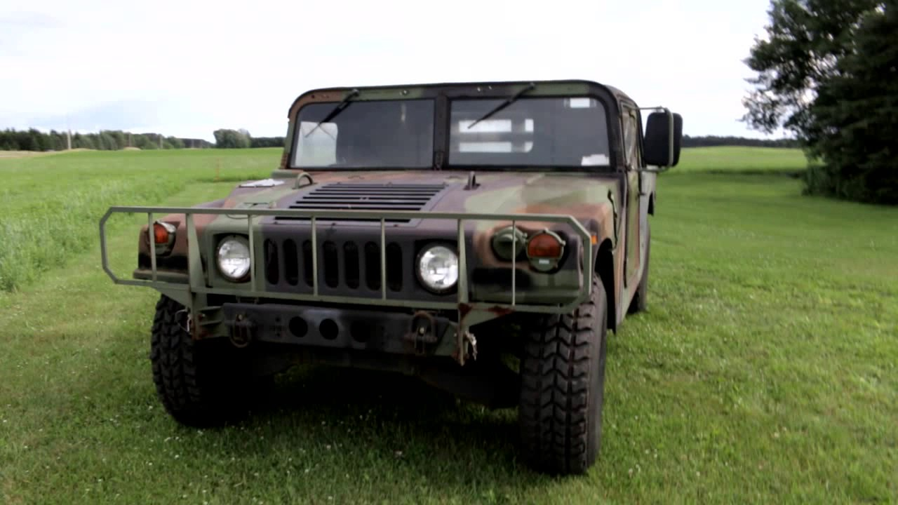 HUMVEE Conversion - 2 door soft top to 4 door hard cab & HUMVEE Conversion - 2 door soft top to 4 door hard cab - YouTube Pezcame.Com
