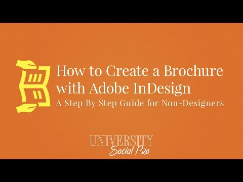 How To Create Brochure With Adobe Indesign Step By Step Guide For Non
