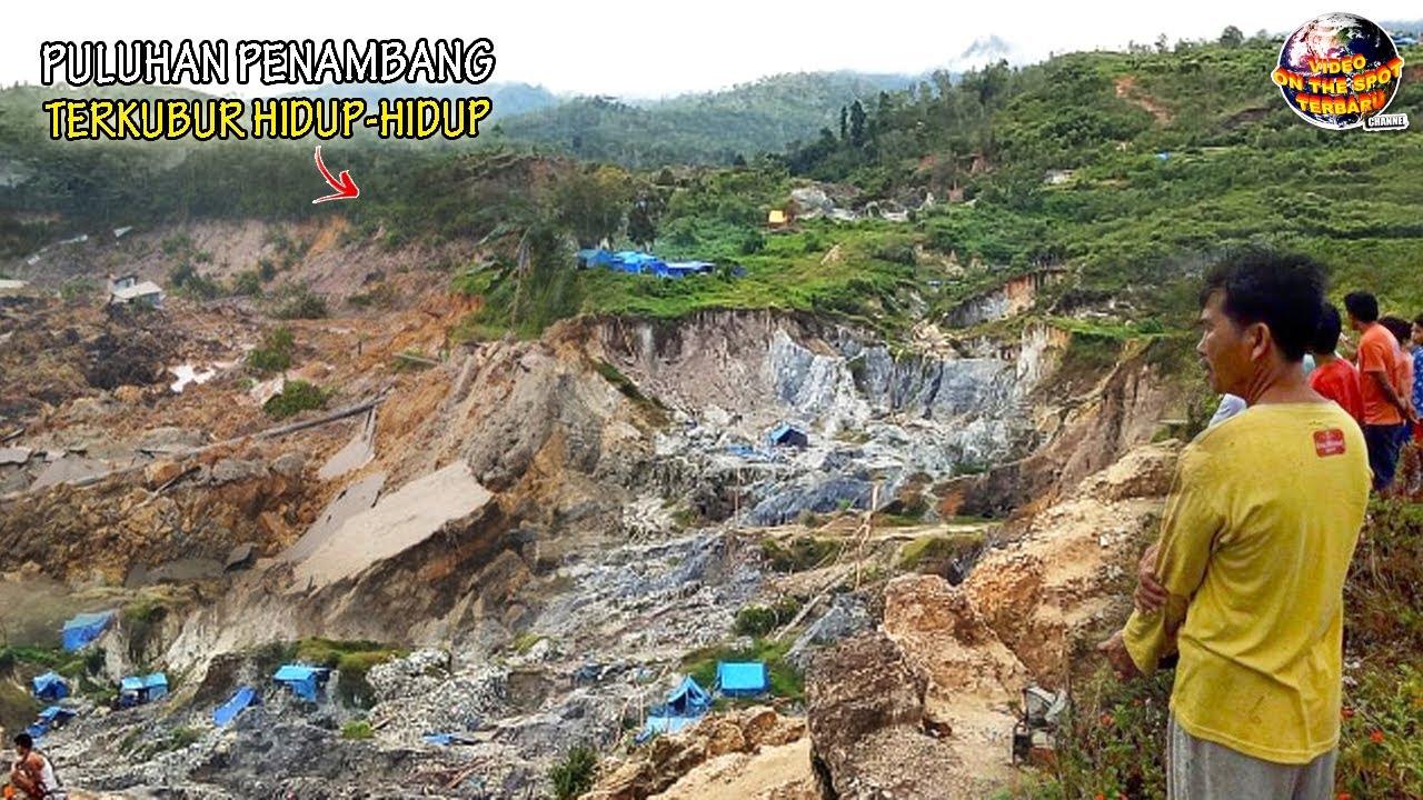 ALAM KEMBALI MURKA! Tambang Emas Ilegal Di Sulawesi Tengah Mendadak Runtuh, Semuanya Tertimbun