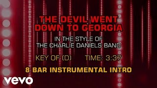 The Charlie Daniels Band - The Devil Went Down To Georgia (Karaoke)