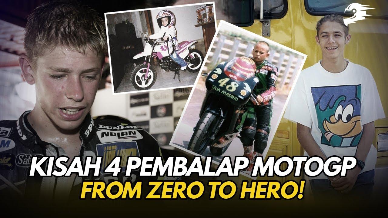 4 Pembalap Top MotoGP Ini Ternyata Dulunya Hidup Pas pasan
