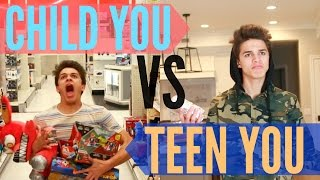 Child You VS Teenage You Brent Rivera