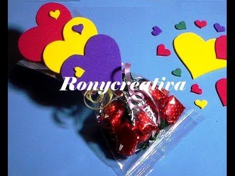 Como Hacer Corazones De Fomi O Goma Eva Candys Heart Diy Youtube