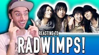 Watch as I REACT to the J-rock group known as RADWIMPS! BECOME A BI...
