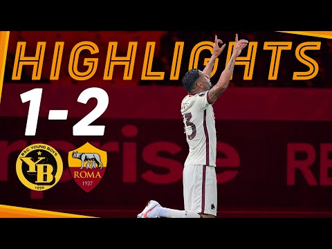 ESORDIO IN EUROPA CON GOAL PER KUMBULLA! 💪   Young Boys 1-2 Roma   UEL Highlights 2020-21
