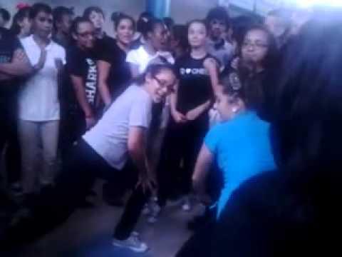 Paul W. Bell Middle school girls dancing