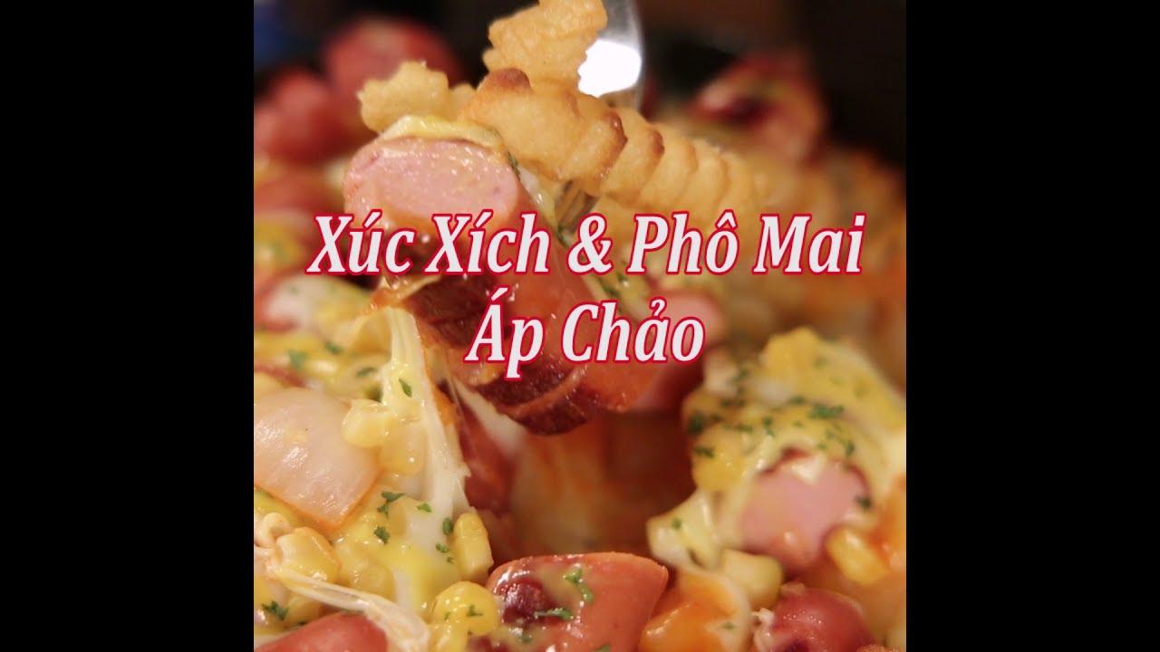 [Cookat Việt Nam] Xúc Xích & Phô Mai Áp Chảo