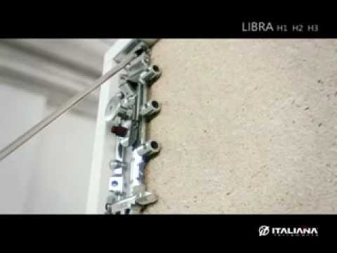 Cymisa libra h1 colgadores para gabinetes superiores for Colgadores de pared