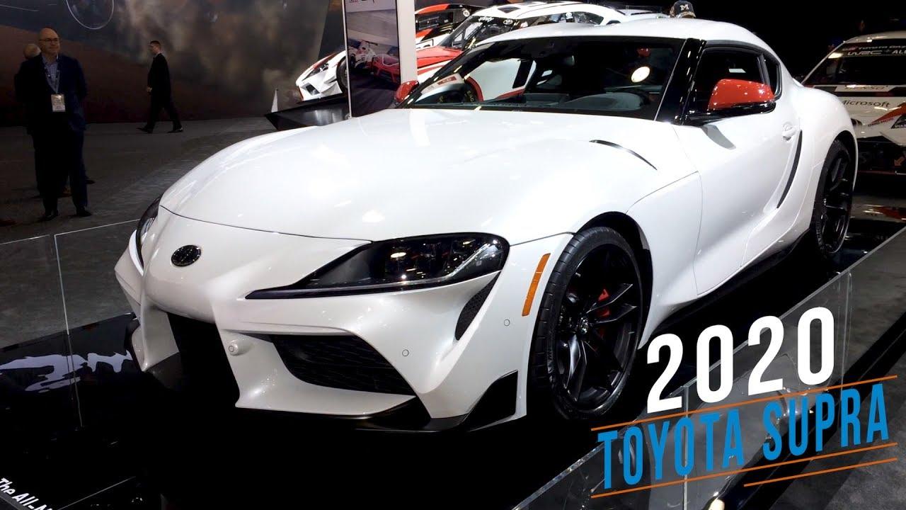 2020 Auto Show Detroit.2020 Toyota Supra At Detroit Auto Show