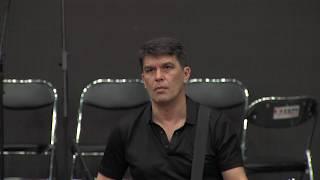 Как играть Электричку. Уникальные кадры репетиции Юрия Каспаряна