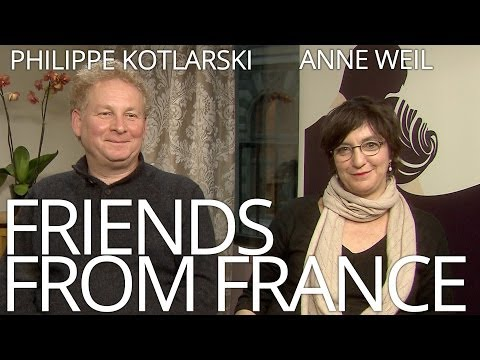 FRIENDS FROM FRANCE: Anne Weil and Philippe Kotlarski - AFFFF2014 NZ