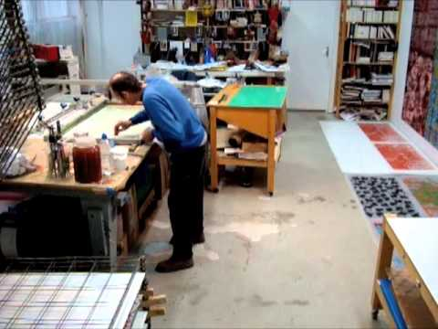JEAN-PIERRE SERGENT AT WORK II PART X: THE SCREEN PRINTING #4