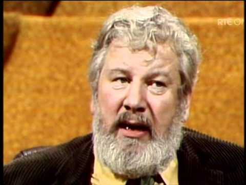 Peter Ustinov on the Late late Show.