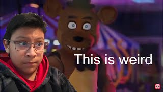 """One weird video/FNAF 6 Song by JT Music - """"Now Hiring at Freddy's""""(Live Action Music Video)REACTION!"""