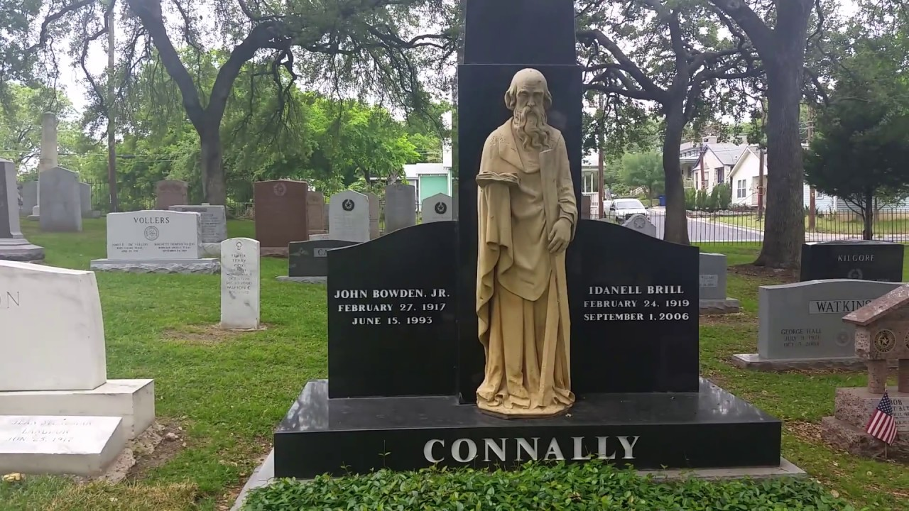 Famous Graves: Texas State Cemetery - April 17, 2017 - Travels With Phil