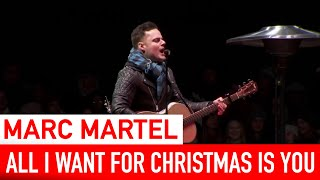 Marc Martel All I Want For Christmas Is You Live in Nashville - TV Broadcast.mp3