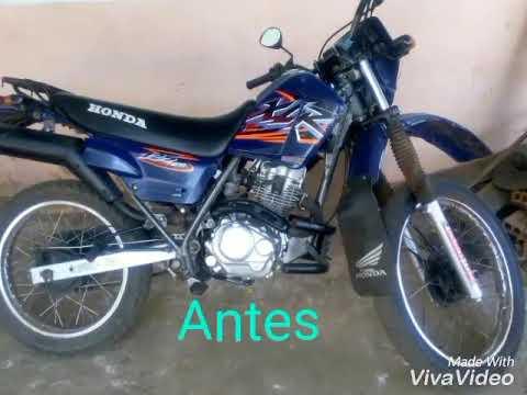 Xlr 125 Azul Tunada